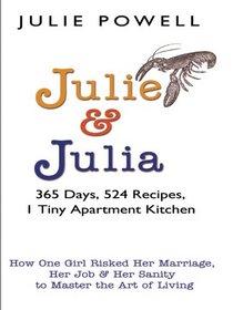 Julie And Julia (Large Print)