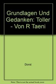 Grundlagen Und Gedanken (Grundlagen und Gedanken zum Verstandnis des Dramas) (German Edition)