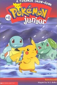 A Pokemon Snow-Down (Pokémon Junior Chapter Book)