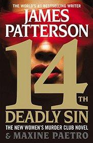14th Deadly Sin (Women's Murder Club, Bk 14) (Audio CD) (Abridged)