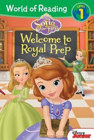 Welcome to Royal Prep (Sofia the First) (World of Reading, Level 1)