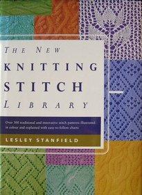 New Knitting Stitch Library