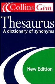 Collins Gem Thesaurus (2nd Edition)
