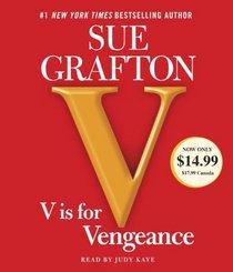 V is for Vengeance (Kinsey Millhone, Bk 22) (Audio CD) (Abridged)