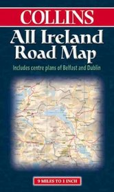 Collins All Ireland Road Map