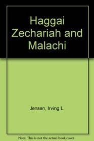 Haggai Zechariah and Malachi (Bible self-study guides)