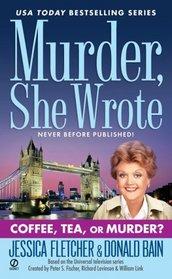 Coffee, Tea, or Murder (Murder, She Wrote, Bk 27)