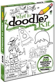 What to Doodle? Kit (English and English Edition)