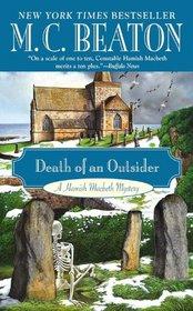 Death of an Outsider (Hamish Macbeth, Bk 3)