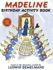 Madeline Birthday Activity Book