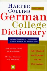 HarperCollins: German College Dictionary (2nd Edition)