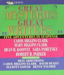 Great Mysteries Great Writers (Audio Cassette) (Abridged)