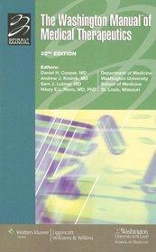 The Washington Manual of Medical Therapeutics (Perfect Bound Edition)