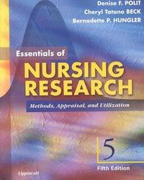 Essentials of Nursing Research: Methods, Appraisal and Utilization