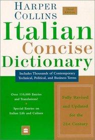 HarperCollins Italian Concise Dictionary, 3e (Harpercollins Concise Dictionaries)