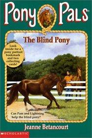 The Blind Pony (Pony Pals (Hardcover))
