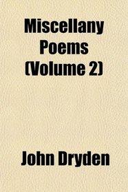 Miscellany Poems (Volume 2)