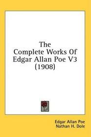 The Complete Works Of Edgar Allan Poe V3 (1908)
