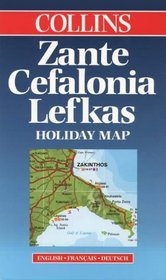 The Ionian Islands (Collins Holiday Map S.)