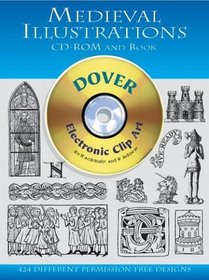 Medieval Illustrations CD-ROM and Book (Dover Pictorial Archives)