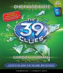 One False Note - Audio (The 39 Clues)