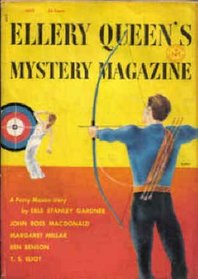 Ellery Queen's Mystery Magazine, July 1954 (Volume 24, No. 1)