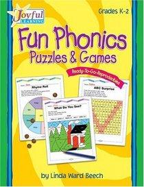 Joyful Learning: Fun Phonics Puzzles & Games (Grades K-2)