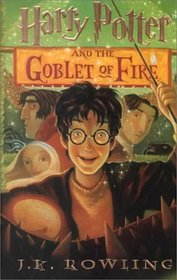 Harry Potter and the Goblet of Fire (Harry Potter, Bk 4) (Large Print)