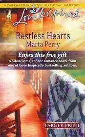 Restless Hearts (Flanagans, Bk 6) (Love Inspired, No 388) (Larger Print)