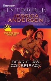Bear Claw Conspiracy (Bear Claw Creek Crime Lab, Bk 7) (Harlequin Intrigue, No 1280)