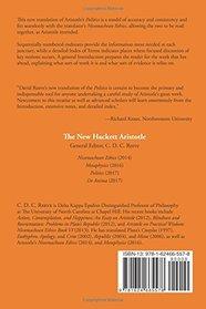 Politics: A New Translation (The New Hackett Aristotle)