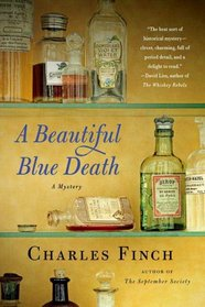A Beautiful Blue Death (Charles Lenox, Bk 1)