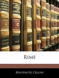 Rime (Italian Edition)
