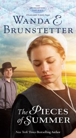 The Pieces of Summer: A Lancaster County Saga (Thorndike Press Large Print Christian Fiction)