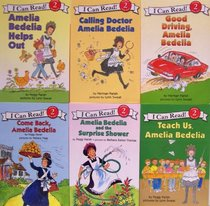 I Can Read Amelia Bedelia 6 Pack Set, Level 2 (Amelia Bedelia Helps Out, Good Driving Amelia Bedelia, Calling Doctor Amelia Bedelia, Come Back Amelia Bedelia, Amelia Bedelia and the Surprise Shower, Teach Us Amelia Bedelia)