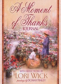 A Moment of Thanks Journal