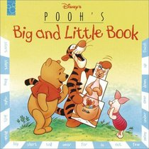 Pooh's Big and Little Book (Pull-a-Page Book)