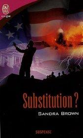 SUBSTITUTION