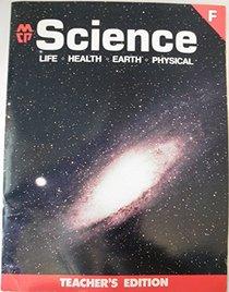 MCP Science, Level F, Teacher's Edition