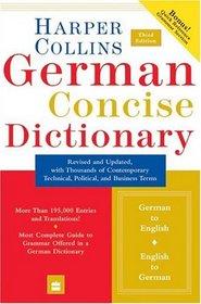 HarperCollins German Concise Dictionary, 3e