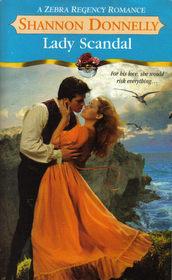 Lady Scandal (Zebra Regency Romance)