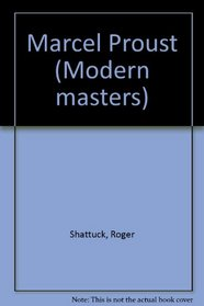 Marcel Proust (Modern masters)
