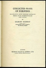 Collected Plays of Euripides