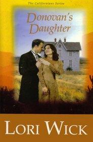 Donovan's Daughter (Californians, Bk 4)