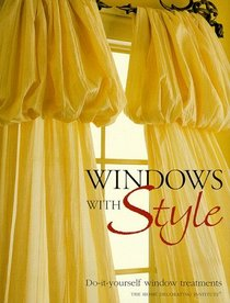 Windows with Style: Do-It-Yourself Window Treatments