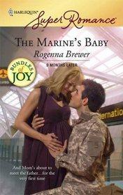 The Marine's Baby (9 Months Later) (Bundles of Joy) (Harlequin Superromance, No 1478)