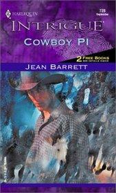 Cowboy PI (Hawke Detective Agency, Bk 4) (Harlequin Intrigue, No 728)