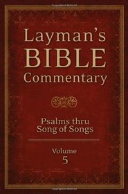 LAYMAN'S BIBLE COMMENTARY VOL. 5