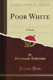 Poor White: A Novel (Classic Reprint)