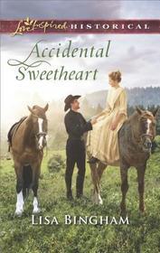 Accidental Sweetheart (Bachelors of Aspen Valley, Bk 3) (Love Inspired Historical, No 425)